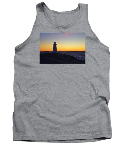 Peggy's Cove Lighthouse Tank Top by Heather Vopni