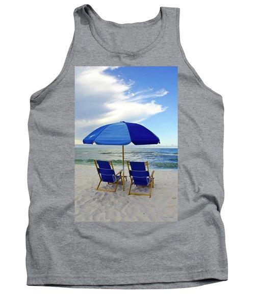 Gulf Coast Beach Oasis Tank Top
