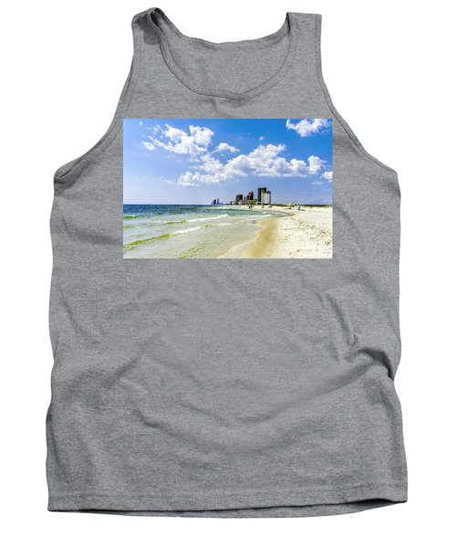 Gulf Shores Al Beach Seascape 1746a Tank Top