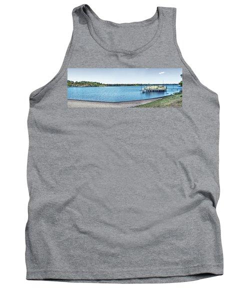 Gull Lake Panorama Tank Top