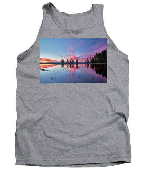 Gull Point At Sunrise Tank Top