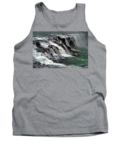 Gullfoss Waterfalls, Iceland Tank Top
