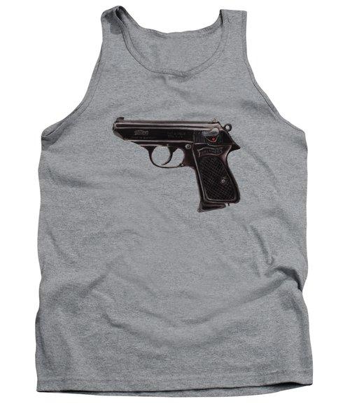 Gun - Pistol - Walther Ppk Tank Top