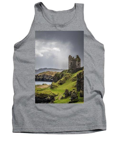 Gylen Castle On Kerrera In Scotland Tank Top