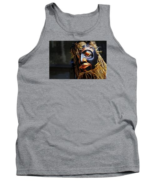 Tank Top featuring the photograph Haida Head by Cameron Wood