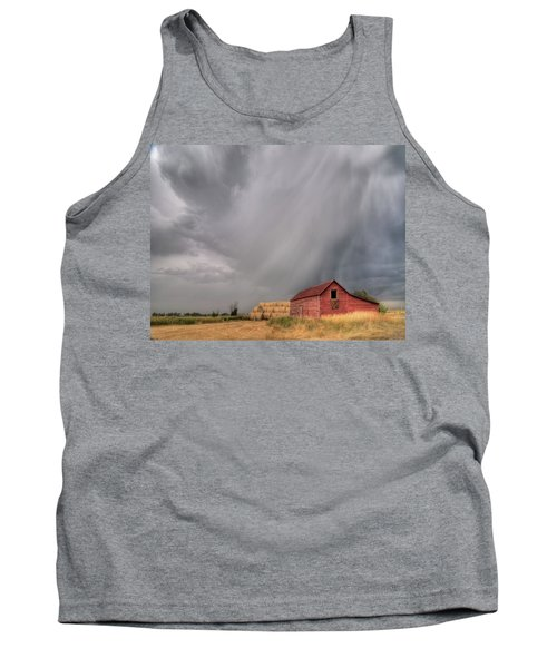 Hail Shaft And Montana Barn Tank Top