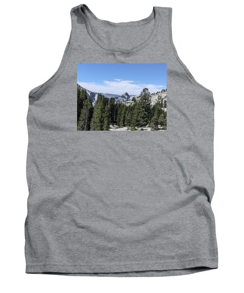 Half Dome From Olmstead Point Yosemite Valley Yosemite National Park Tank Top