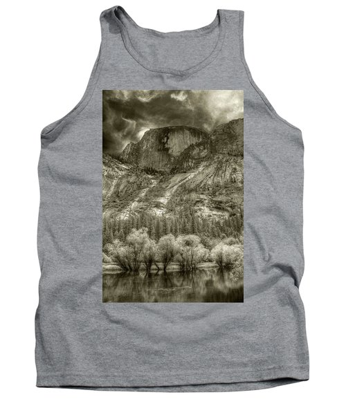 Half Dome Over Mirror Lake Tank Top