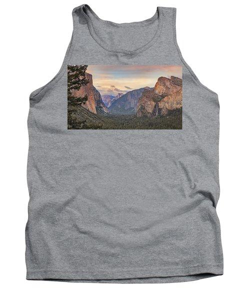 Yosemite Sunset Tank Top