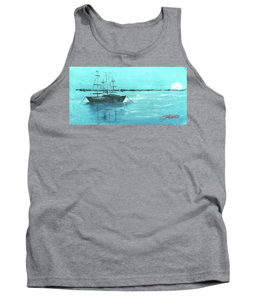 Half Moon Harbor Tank Top