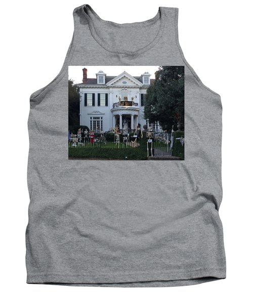 Halloween Decor New Orleans Style Tank Top