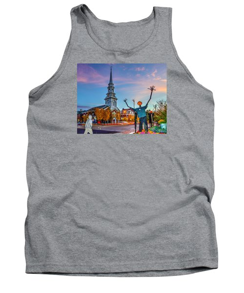 Halloween In Portsmouth 746 Tank Top