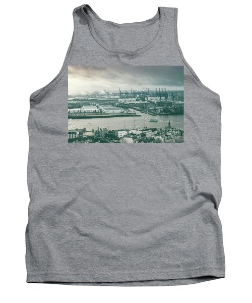 Hamburg Port  Tank Top