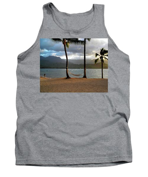 Hammock At Hanalei Bay Tank Top