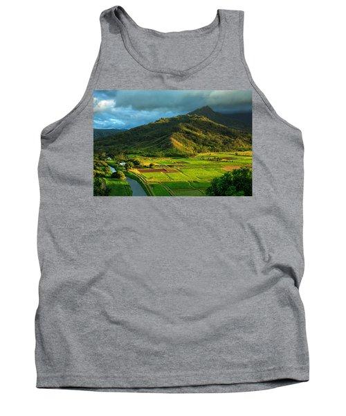 Hanalei Valley Taro Fields Tank Top