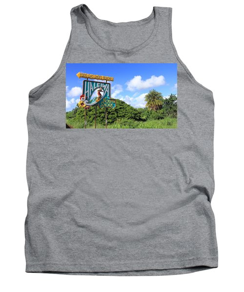 Hand-carved Hale'iwa Tank Top