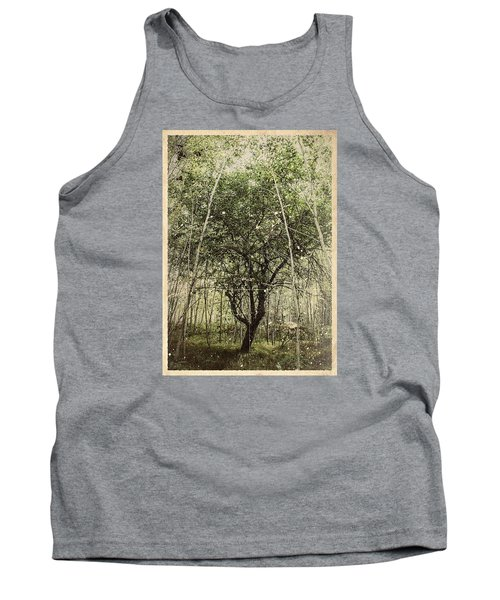 Hand Of God Apple Tree Poster Tank Top