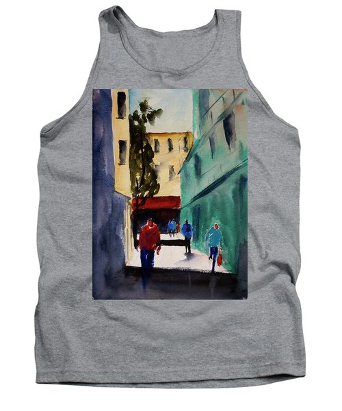 Hang Ah Alley1 Tank Top