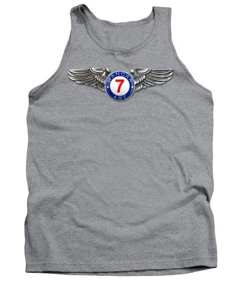 Hangar 7 Art Logo Tank Top