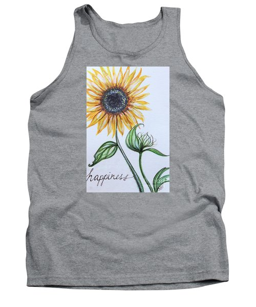 Tank Top featuring the painting Happiness by Elizabeth Robinette Tyndall