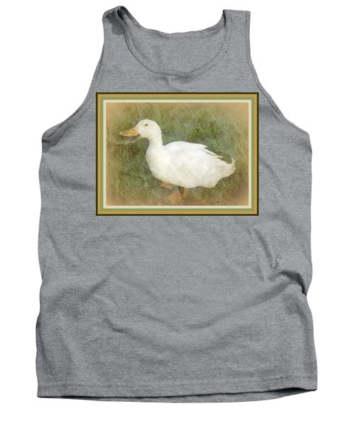Happy Duck Portrait Tank Top