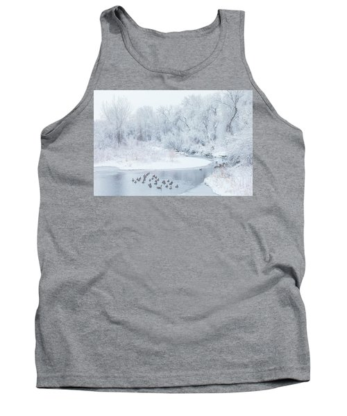 Tank Top featuring the photograph Happy Geese by Darren White