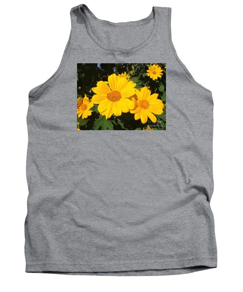 Happy Yellow Tank Top by LeeAnn Kendall