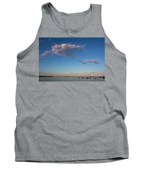 Harbor In Lincolnville,maine Tank Top by Diane Diederich