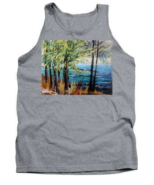 Harbor Trees Tank Top by John Williams