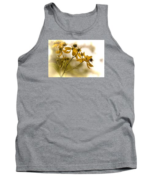 Tank Top featuring the photograph Hard At Work by Dennis Lundell