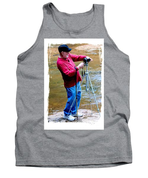 Hard At Work Tank Top by Marilyn Carlyle Greiner
