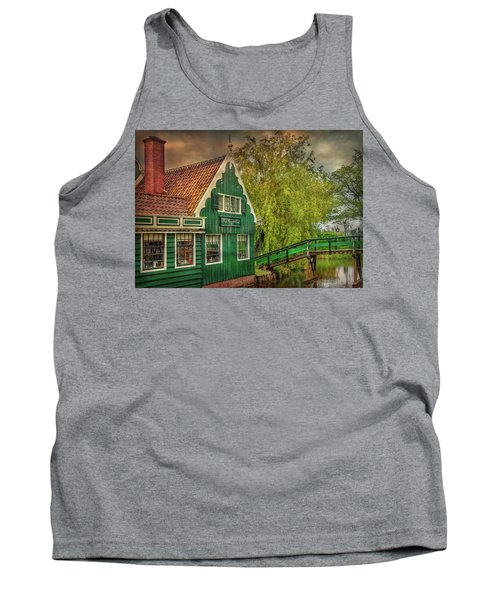 Tank Top featuring the photograph Haremakerij At The Brook by Hanny Heim