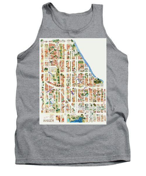Harlem From 106-155th Streets Tank Top