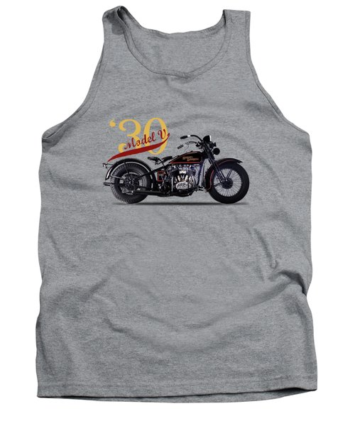Harley-davidson Model V 1930 Tank Top
