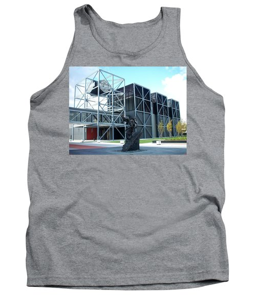 Harley Museum And Statue Tank Top