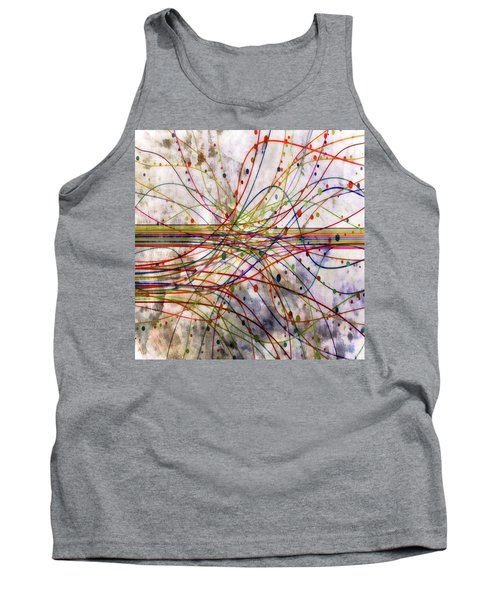 Tank Top featuring the digital art Harnessing Energy 1 by Angelina Vick