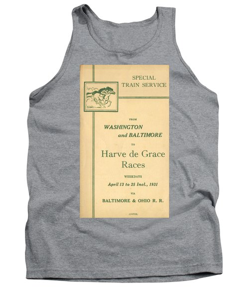 Harve De Grace Races Tank Top