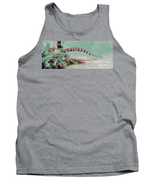 Have We Become Comfortably Numb Tank Top by Frances Marino