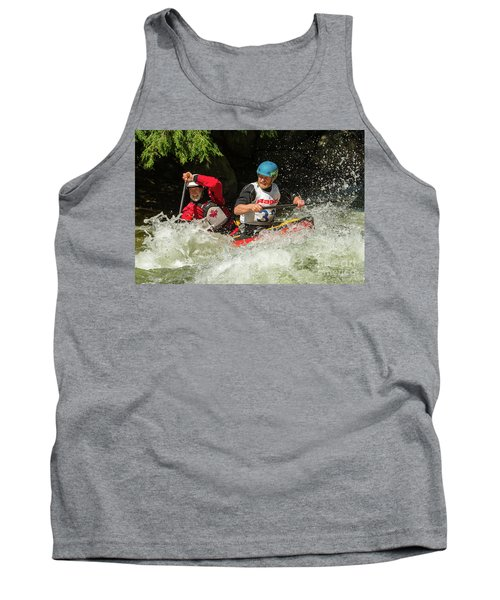 Having Fun In Whitewater Tank Top