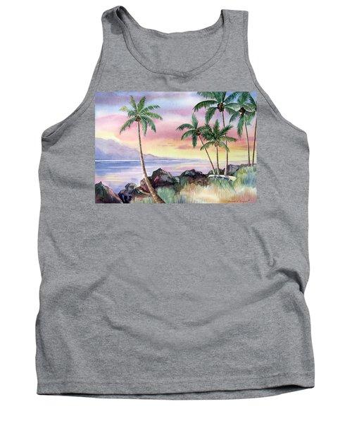 Hawaiian Sunset Tank Top