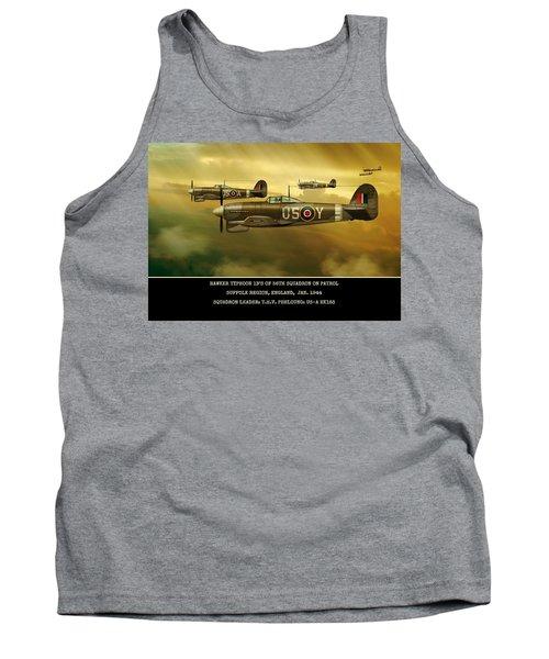 Tank Top featuring the digital art Hawker Typhoon Sqn 56 by John Wills