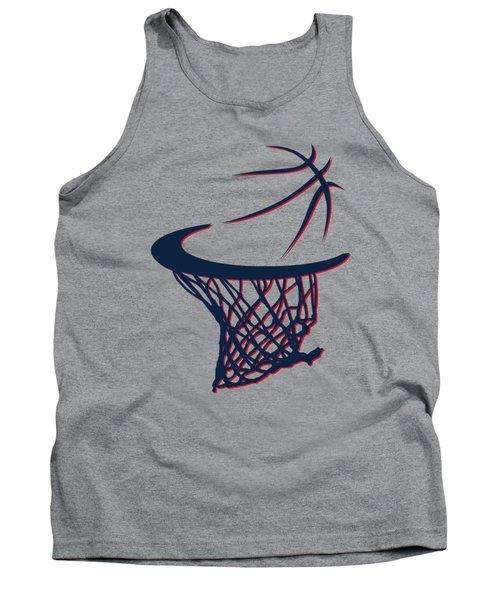 Hawks Basketball Hoop Tank Top