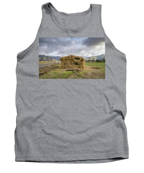 Hay Hut In Andes Tank Top