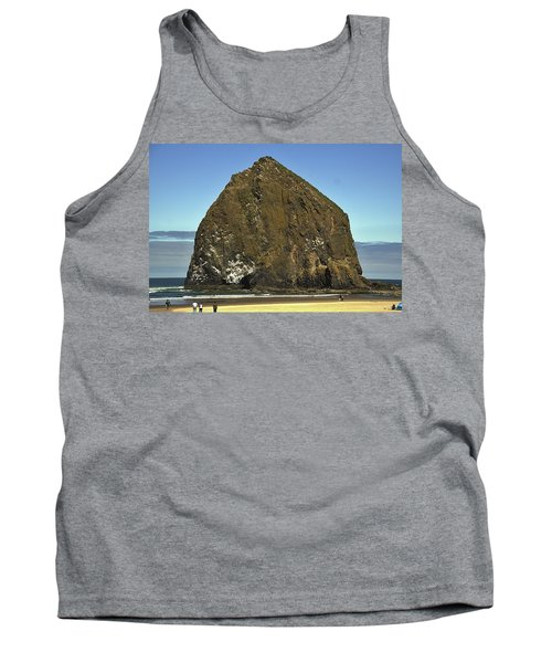 Haystack Rock, Cannon Beach, Or Tank Top