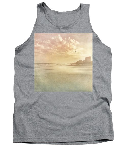 Hazy Day At The Beach Tank Top