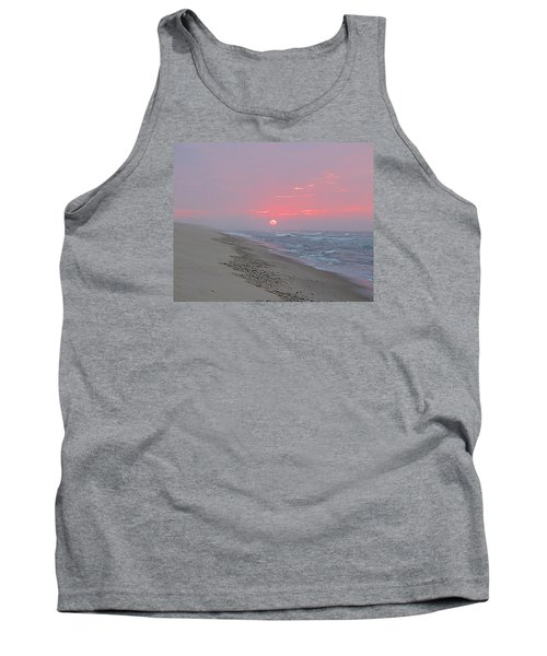 Tank Top featuring the photograph Hazy Sunrise by  Newwwman