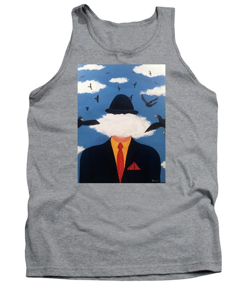 Head In The Cloud Tank Top by Thomas Blood