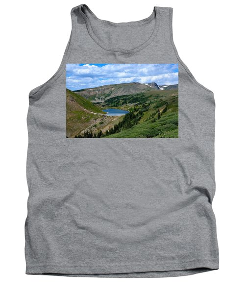 Heart Lake In The Indian Peaks Wilderness Tank Top