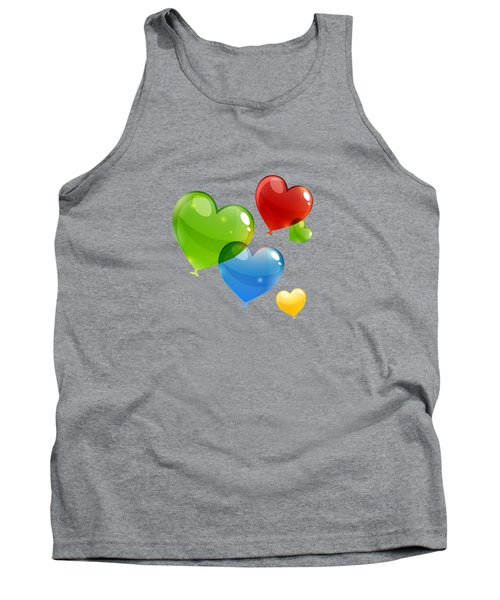 Hearts 11 T-shirt Tank Top