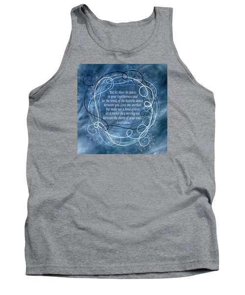 Tank Top featuring the digital art Heavens Dance by Angelina Vick